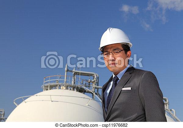 industriel, ingénieur - csp11976682