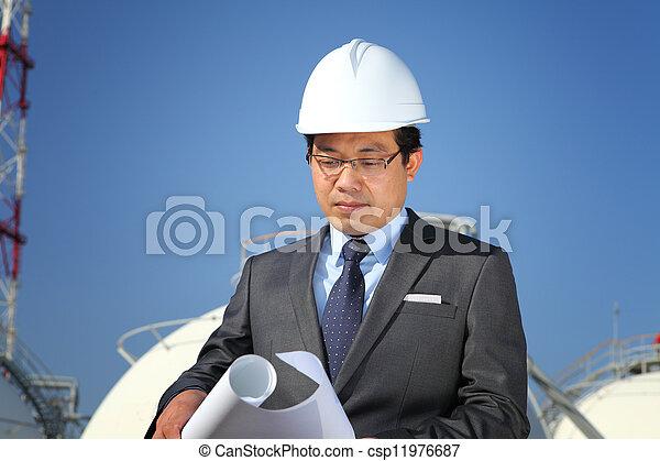 industriel, ingénieur - csp11976687