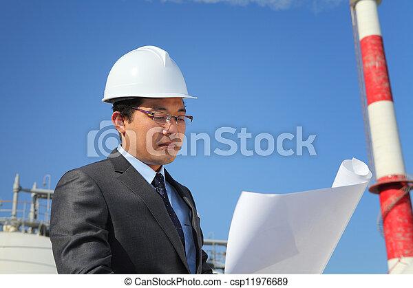 industriel, ingénieur - csp11976689