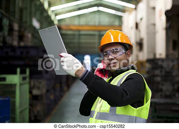 industriel, ingénieur - csp15540282