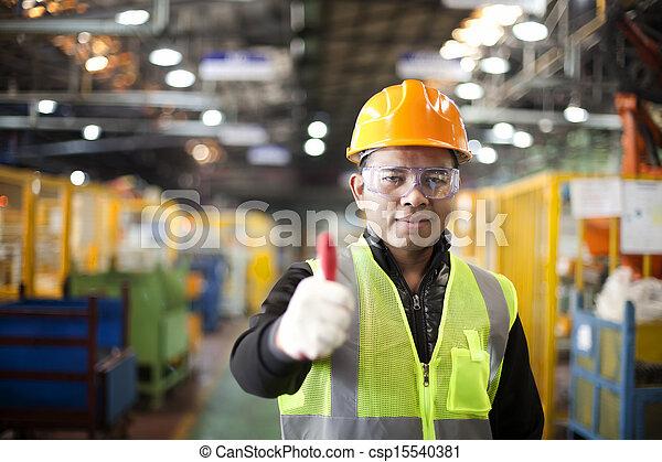 industriel, ingénieur - csp15540381