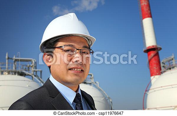 industriel, ingénieur - csp11976647