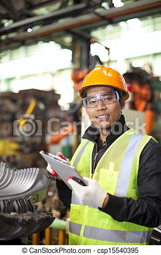 industriel, ingénieur - csp15540395