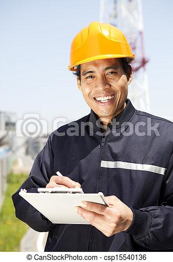 industriel, ingénieur - csp15540136
