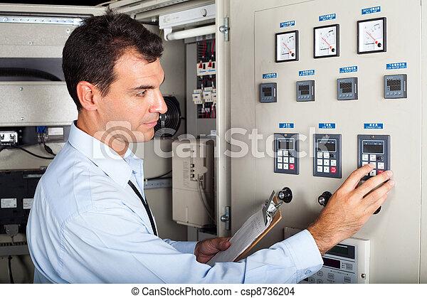 industriel, ingénieur, professionnel - csp8736204
