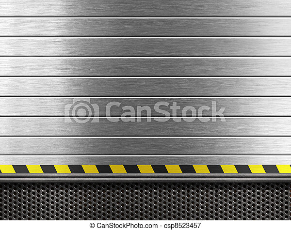 industriel, métal, fond - csp8523457