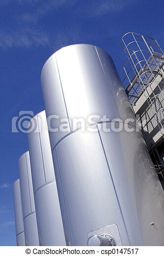 industriel, réservoirs - csp0147517