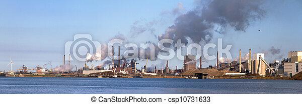 Industry at sea - csp10731633