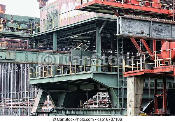 Industry in Europe - csp16787106