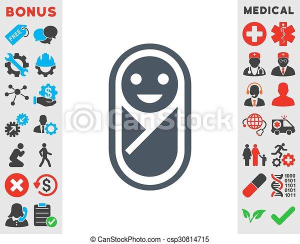 Infant Icon - csp30814715