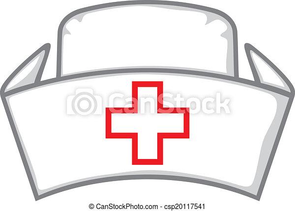 infermiera, berretto - csp20117541