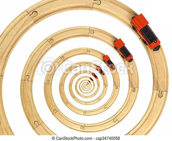 infini, train, rails - csp34740058