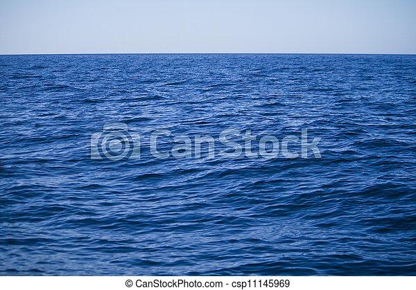 infinite Atlantic ocean - csp11145969