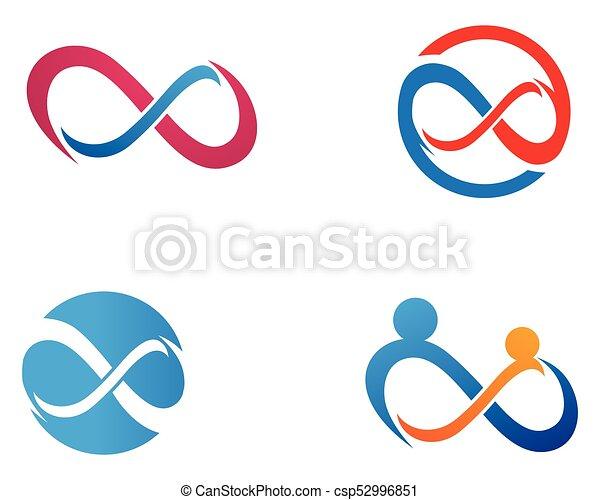 infinity design infinity logo vector logo template clipart vector rh canstockphoto com infinity symbol vector free download infinity symbol vector art