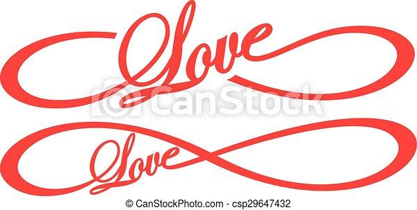 Infinity Love  - csp29647432