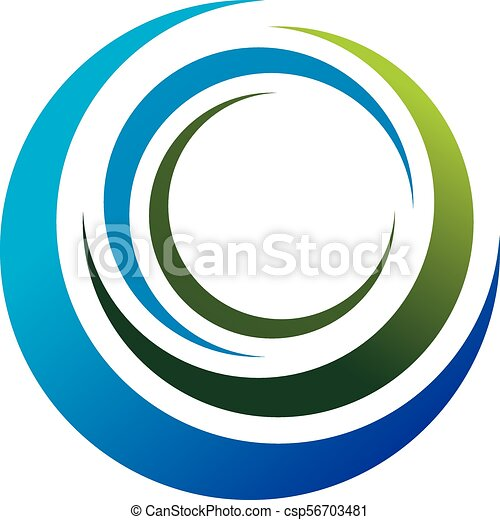 Infinity Motion Logo Design Template Vector