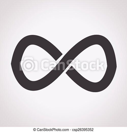 infinity symbol - csp26395352