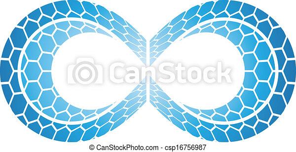 Infinity Symbol Design - csp16756987