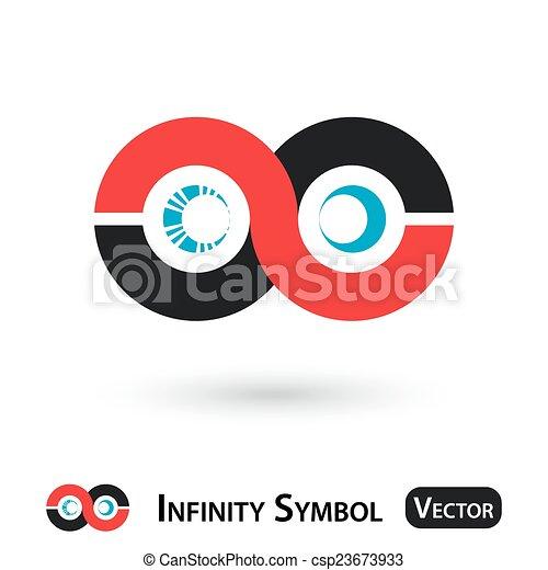 Infinity symbol design - csp23673933