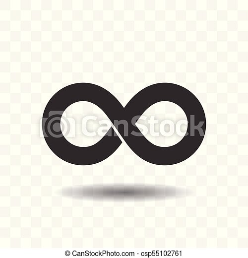 infinity symbol icons unlimited limitless symbol sign clip art rh canstockphoto co uk Infinity Symbol Outline Faith Infinity Symbol Clip Art