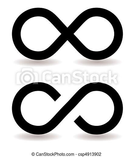 infinity symbol - csp4913902
