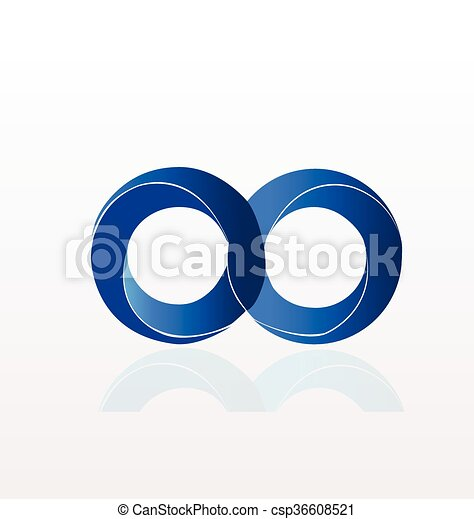 Infinity Symbol logo - csp36608521