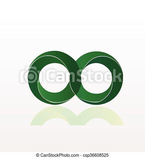 Infinity Symbol Logo Infinity Symbol Design Vector