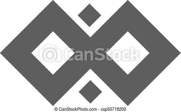 infinity symbol loop figure 8 icon eternity logo sign in original