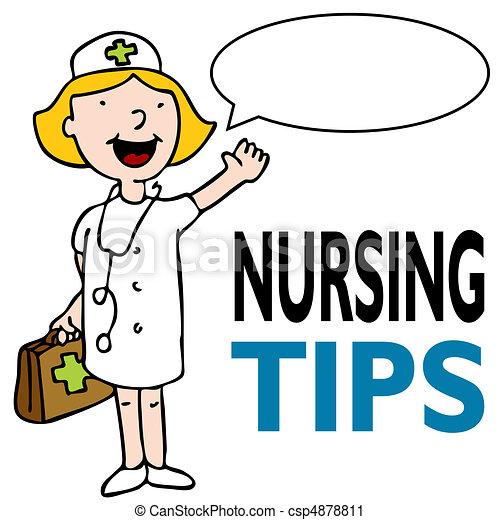 infirmière, kit médical - csp4878811