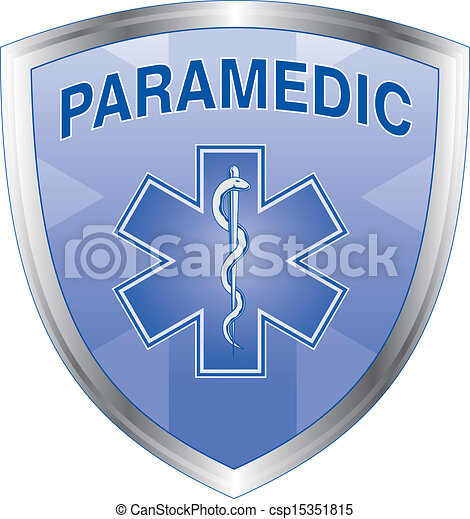 infirmier, bouclier - csp15351815