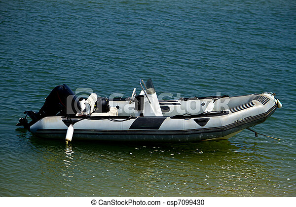 inflatable rubber boat - csp7099430