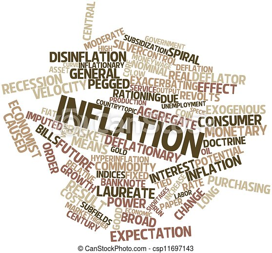 Inflation - csp11697143