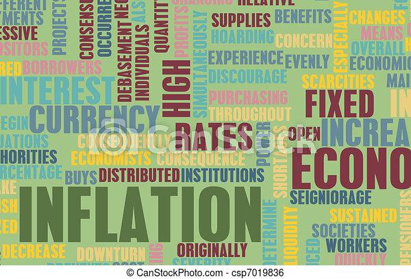 Inflation - csp7019836