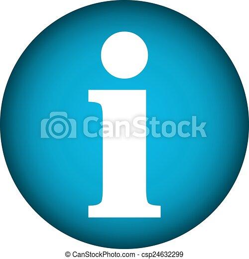 Info button. - csp24632299