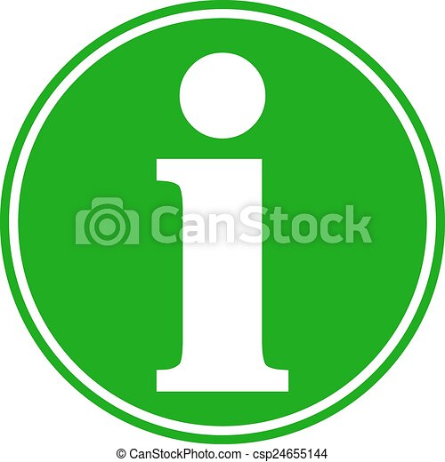 Info button. - csp24655144