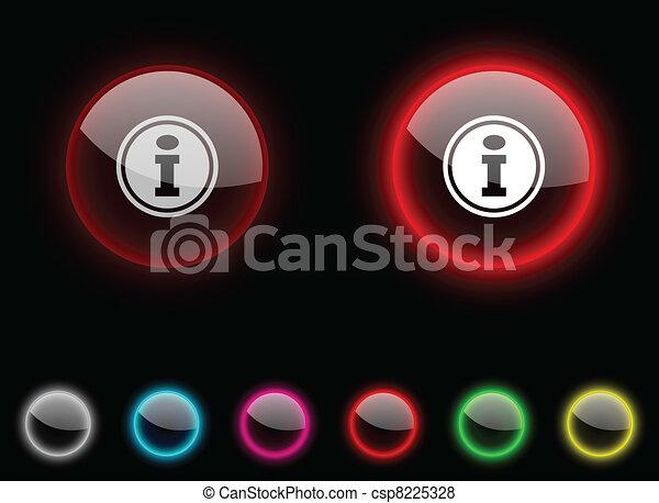 Info button. - csp8225328