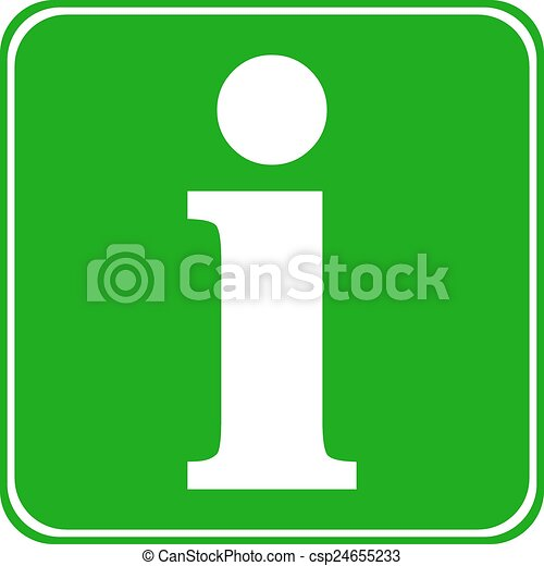 Info button. - csp24655233