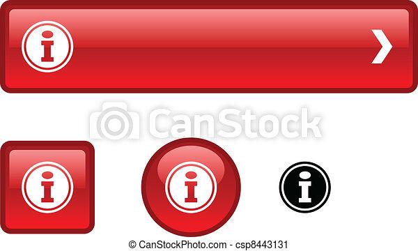 Info button set. - csp8443131