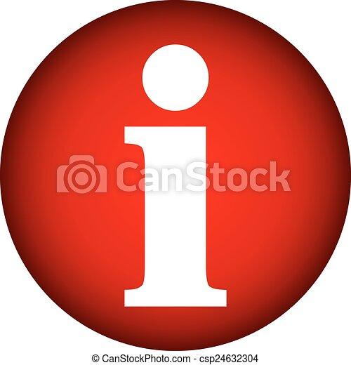 Info button. - csp24632304