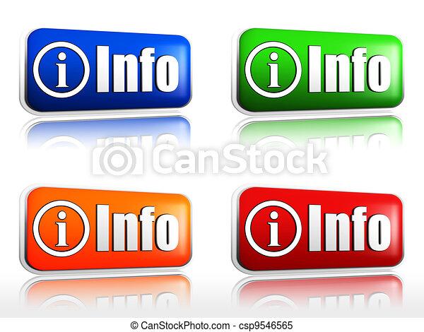 info buttons - csp9546565