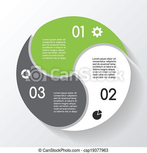 info, gráfico, negócio, modernos, projeto, vetorial - csp19377963
