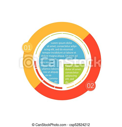 info graphic design circles infographic design vector and marketing