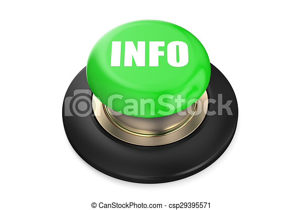 Info green push button - csp29395571