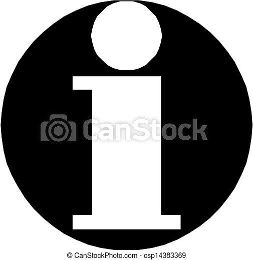 Info icon - csp14383369