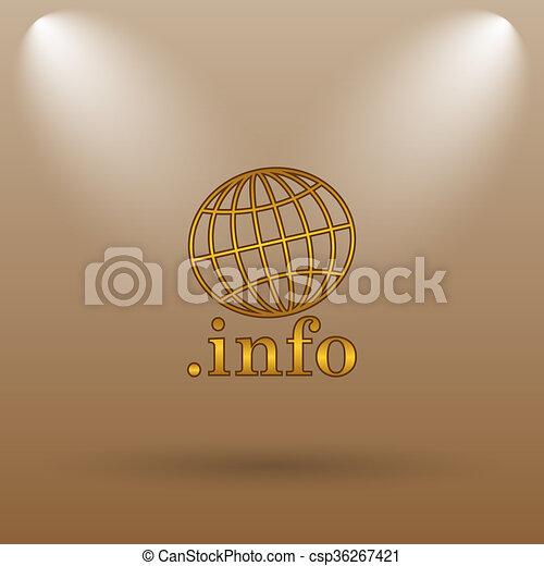 .info icon - csp36267421
