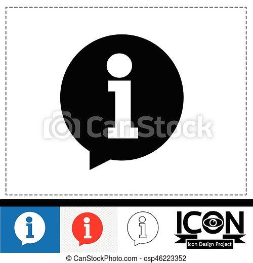 info icon - csp46223352