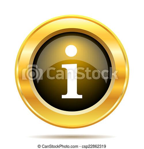 Info icon - csp22862319