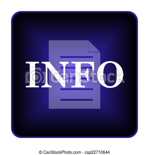 Info icon - csp22710644