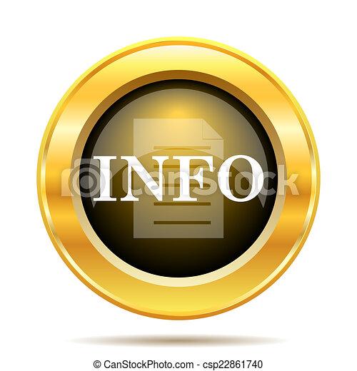 Info icon - csp22861740