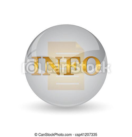 Info icon - csp41207335